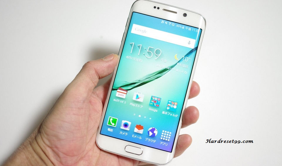 Samsung Galaxy S6 Edge SCV31 Hard reset, Factory Reset and