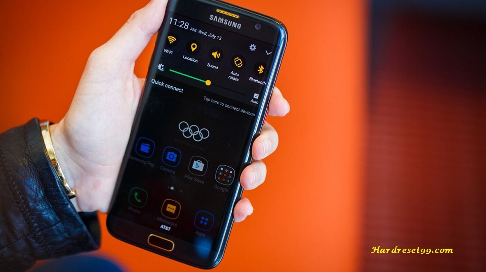 Samsung Galaxy S7 Edge Olympic Games Edition Hard reset