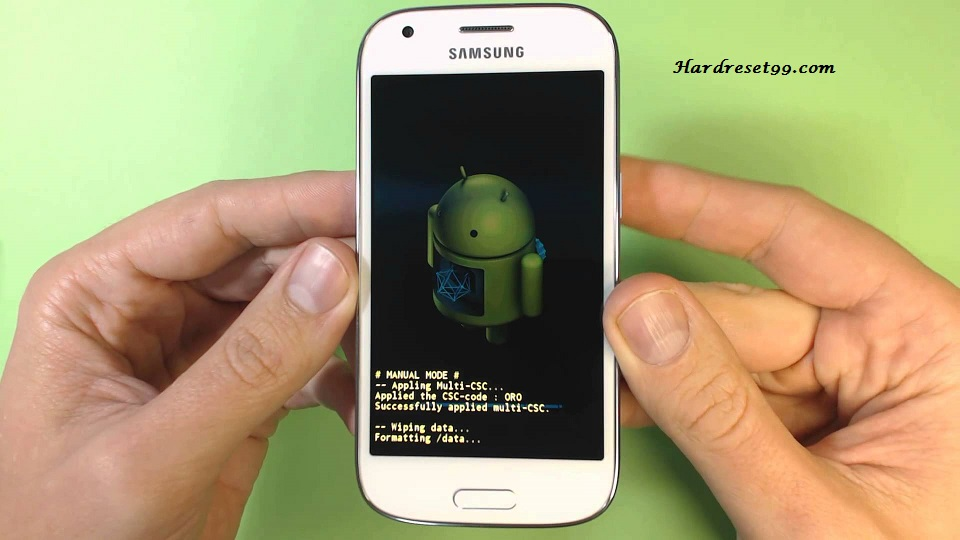 Samsung SM-G357FZ Hard reset, Factory Reset and Password Recovery