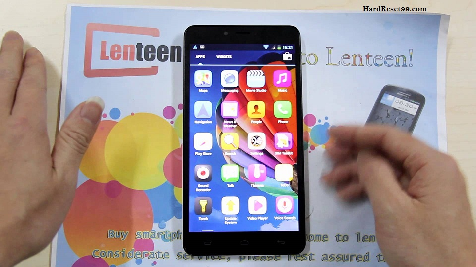 iOcean G7 Hard reset, Factory Reset and Password Recovery