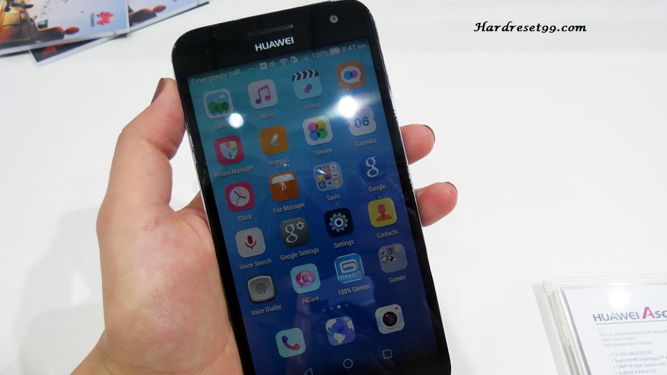 Huawei Ascend G7 Hard reset, Factory Reset and Password Recovery