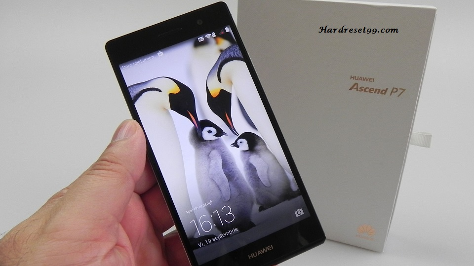 Huawei Ascend P7 Hard reset, Factory Reset and Password Recovery