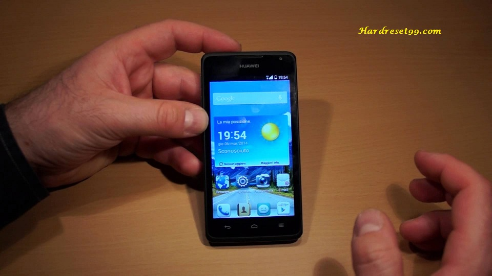 Huawei Ascend Y530 Hard reset, Factory Reset and Password
