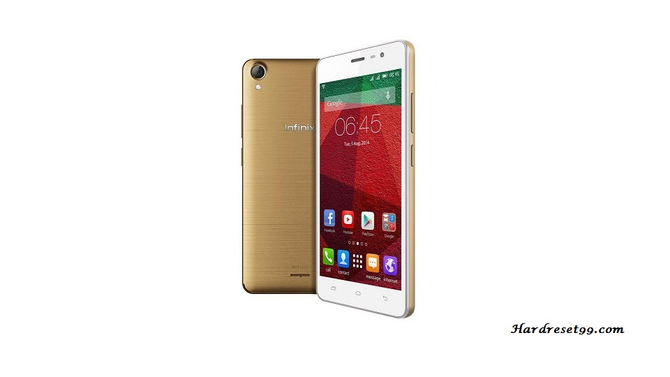Infinix Hot Note Hard reset, Factory Reset and Password Recovery