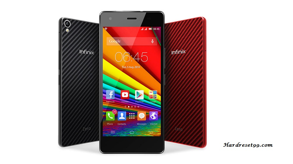 Infinix Zero 2 LTE Hard reset, Factory Reset and Password