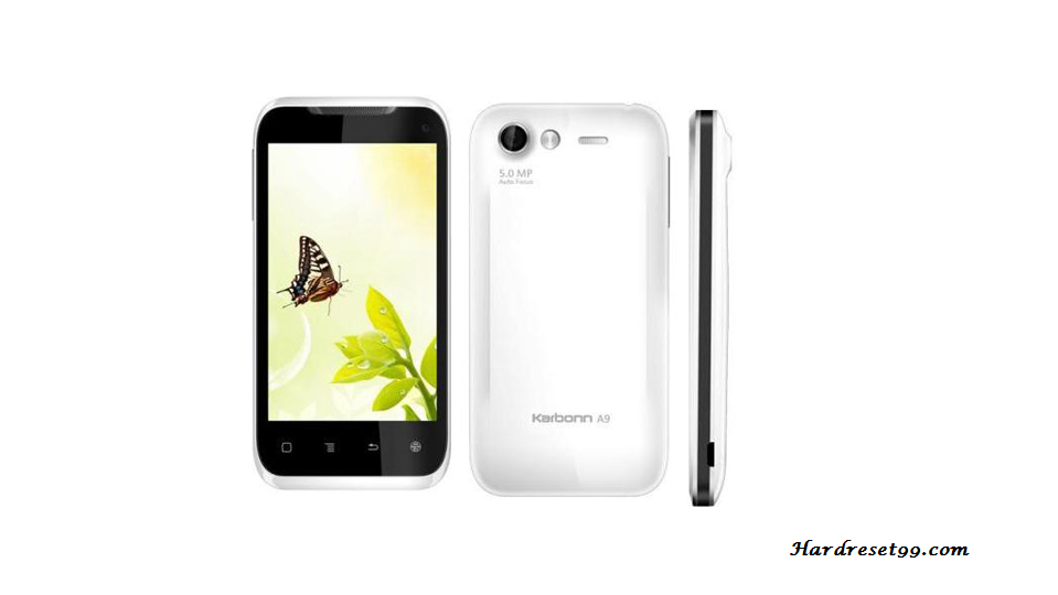Karbonn A9 star Hard reset, Factory Reset and Password Recovery