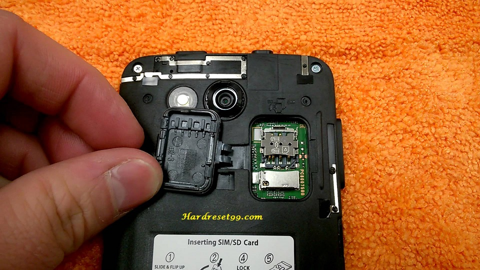 Kyocera Hydro Air Hard reset, Factory Reset and Password