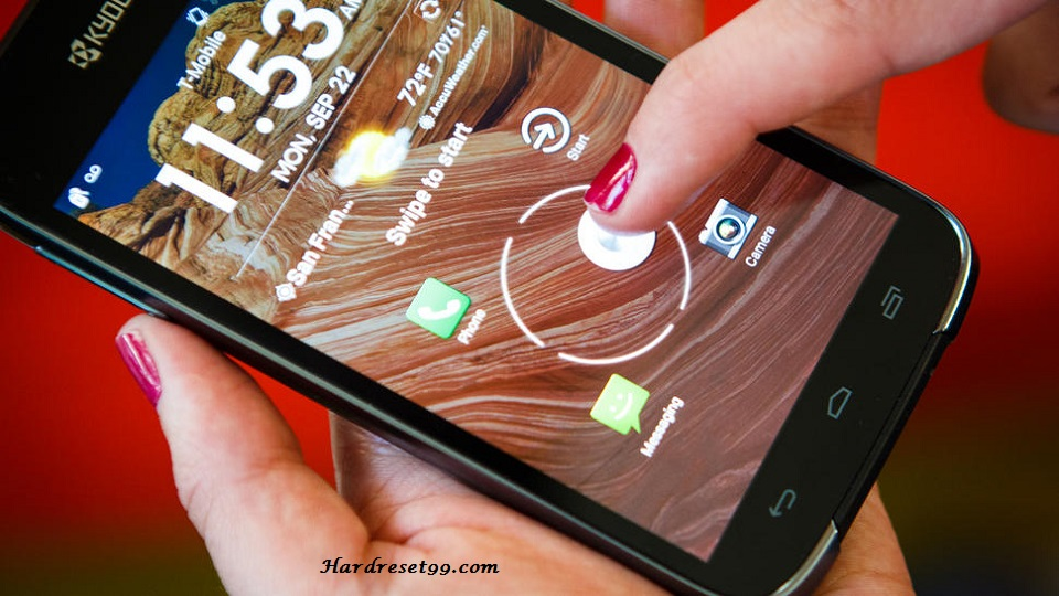 Kyocera Hydro VIEW Hard reset, Factory Reset and Password Recovery