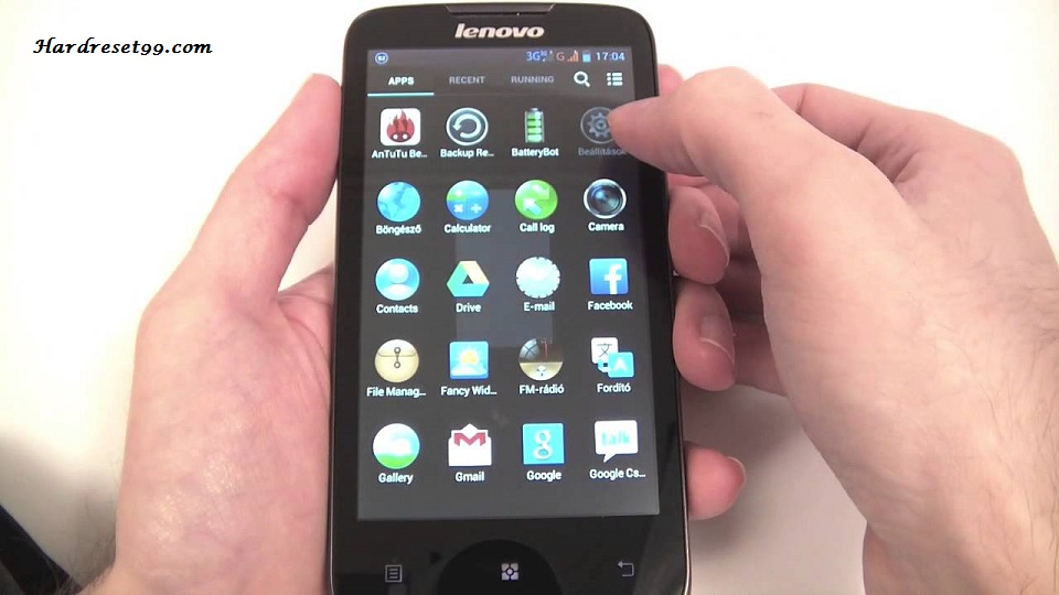 Lenovo Vibe P1 Hard reset, Factory Reset and Password Recovery