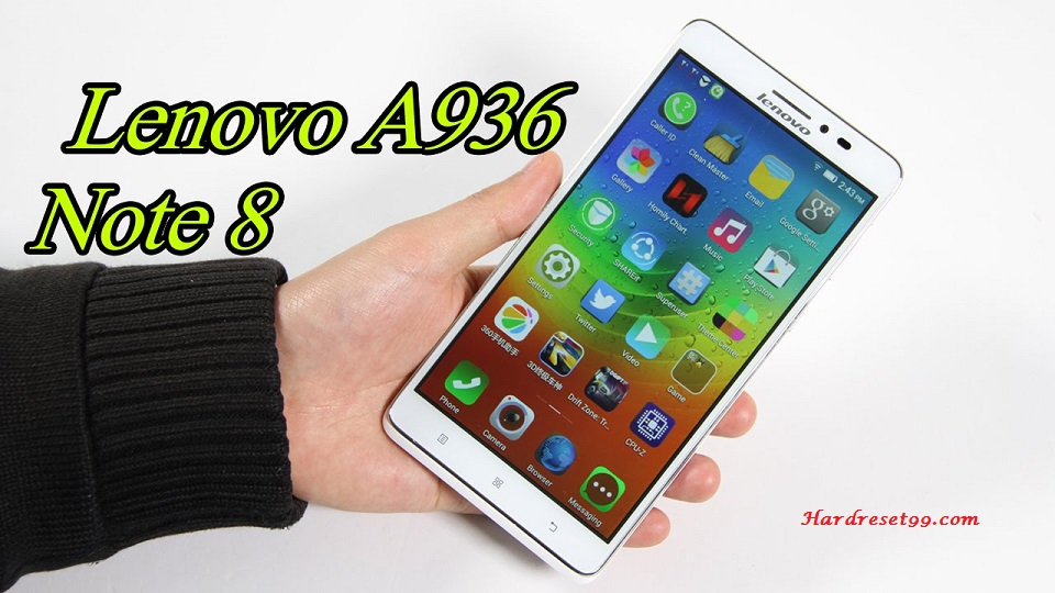 Lenovo Golden Warrior Note 8 Hard reset, Factory Reset and