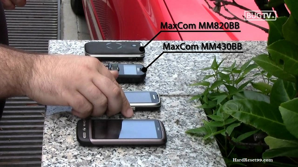 MaxCom MS450 Hard reset, Factory Reset and Password Recovery