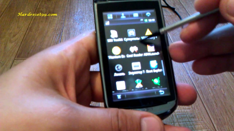Motorola A1680 Hard reset, Factory Reset and Password Recovery