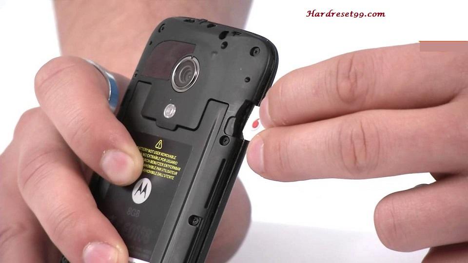 Motorola Moto G XT1072 Hard reset, Factory Reset and Password Recovery