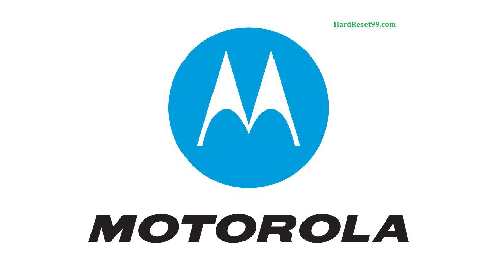Motorola List - Hard reset, Factory Reset & Password Recovery