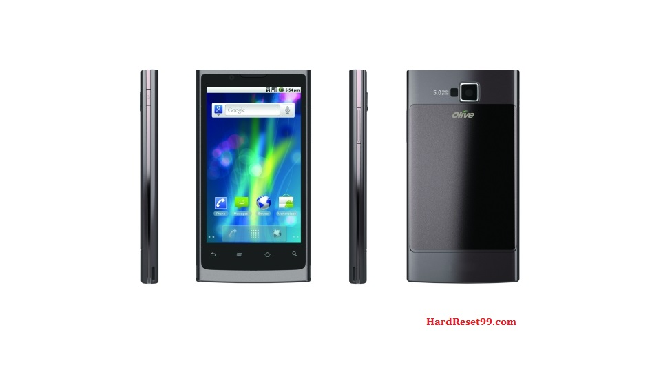Olive Telecom V-S300 Hard reset, Factory Reset and Password Recovery