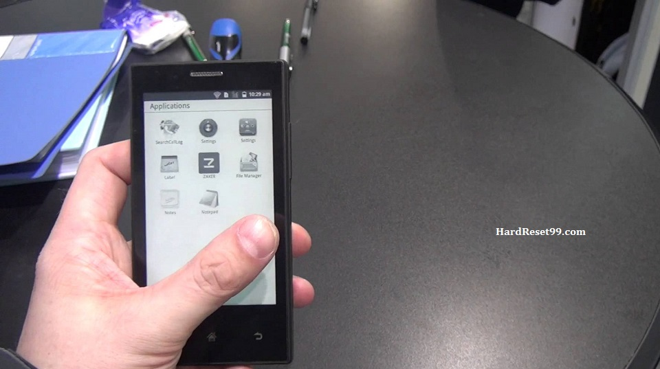 Onyx Midia Inkphone E43 Hard reset, Factory Reset and Password Recovery