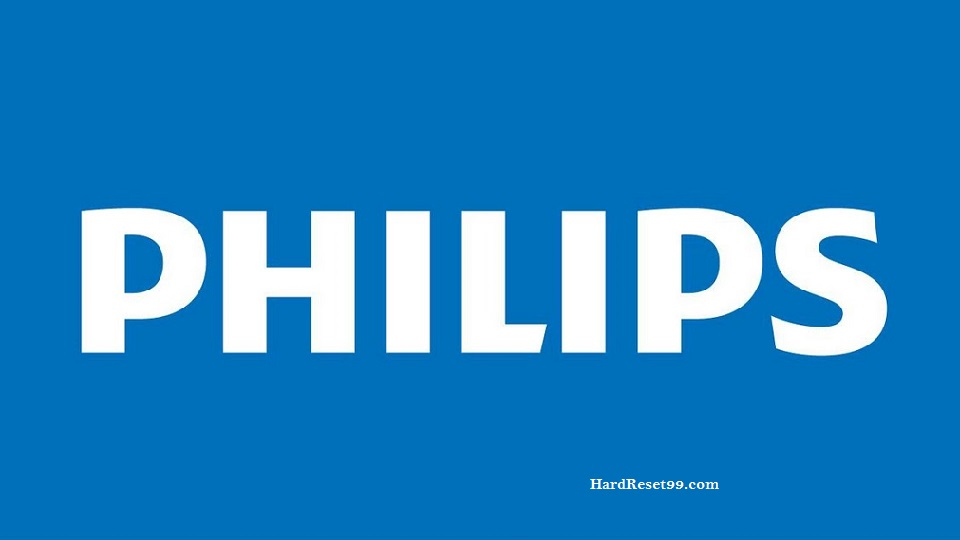 Philips List - Hard reset, Factory Reset & Password Recovery