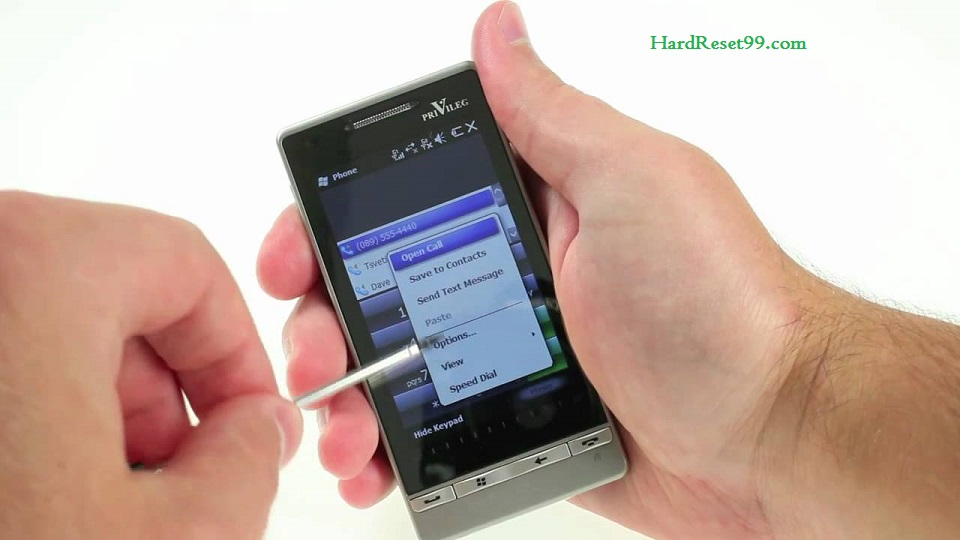 Privileg SM1 Hard reset, Factory Reset and Password Recovery