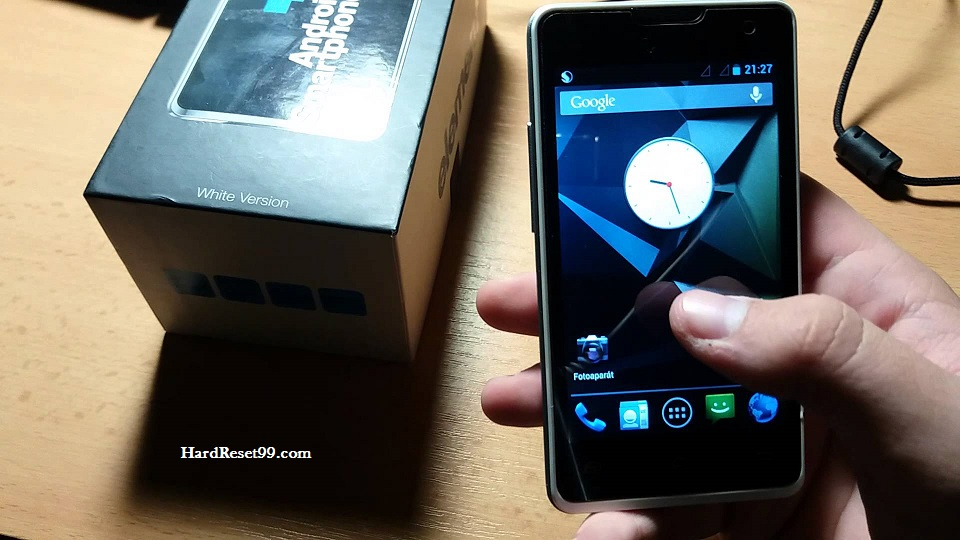 Sencor Element P350 Hard reset, Factory Reset and Password Recovery
