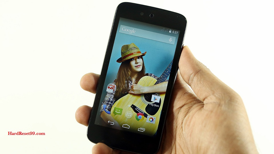 Spice Dream UNO Hard reset, Factory Reset and Password Recovery