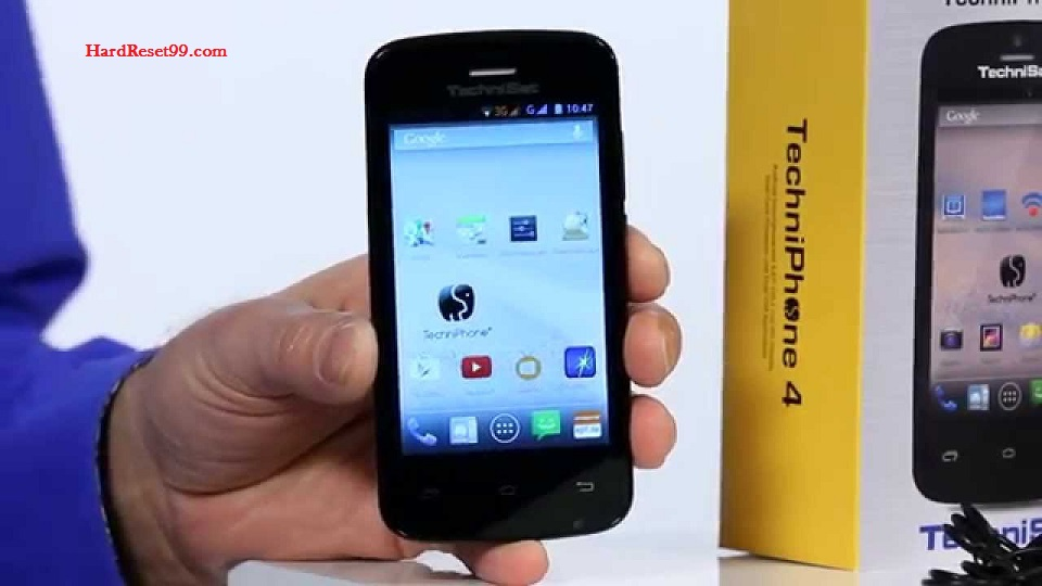 TechniSat TechniPhone 4 Hard reset, Factory Reset and Password Recovery