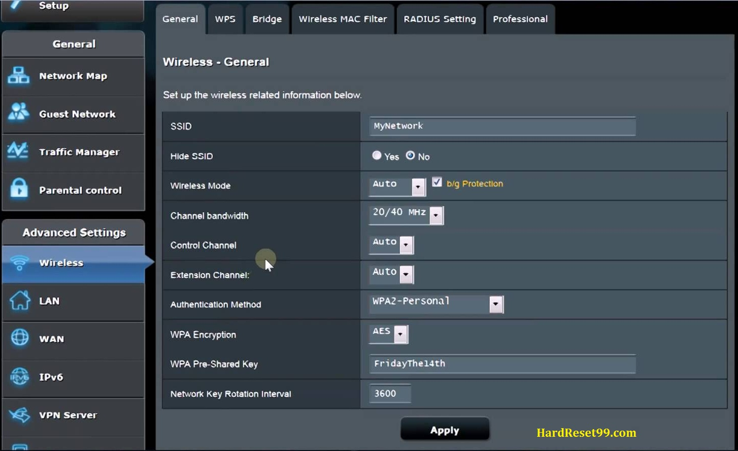 Asus RT-N66U Router - How To Reset To Factory Defaults Settings