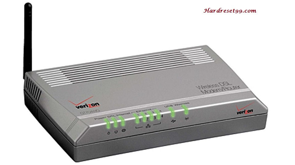 Actiontec GT704 Router - How To Reset To Factory Defaults Settings