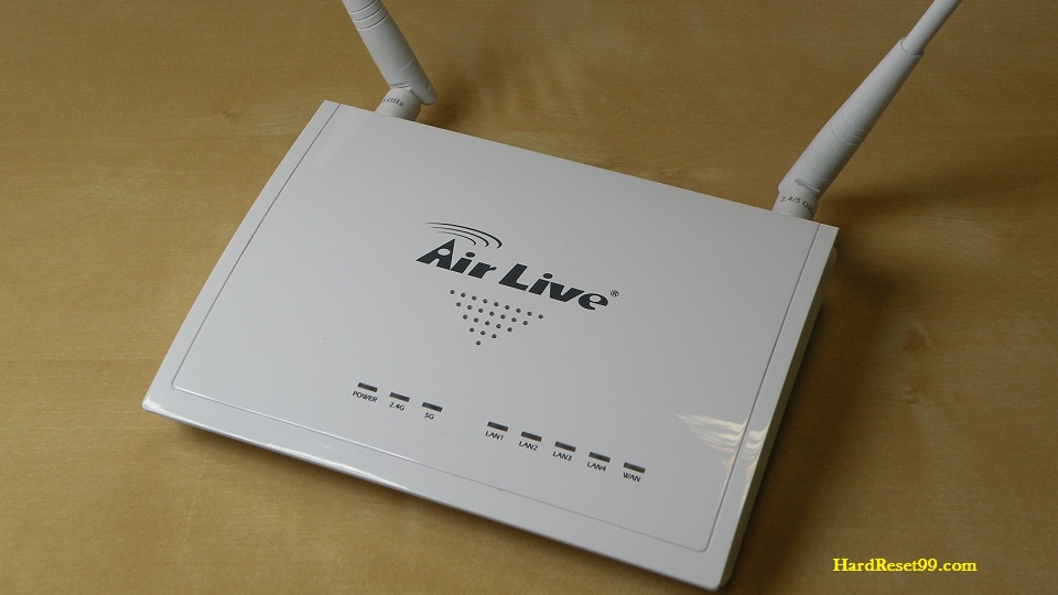 AirLive AC-1200R Router - How To Reset To Factory Defaults Settings
