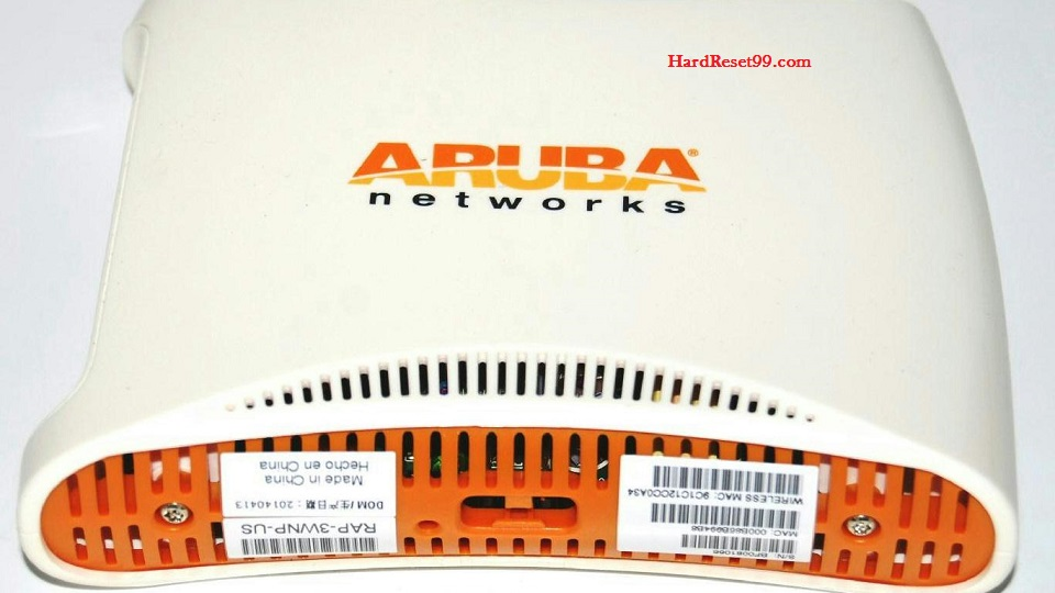 Aruba Router Factory Reset – List