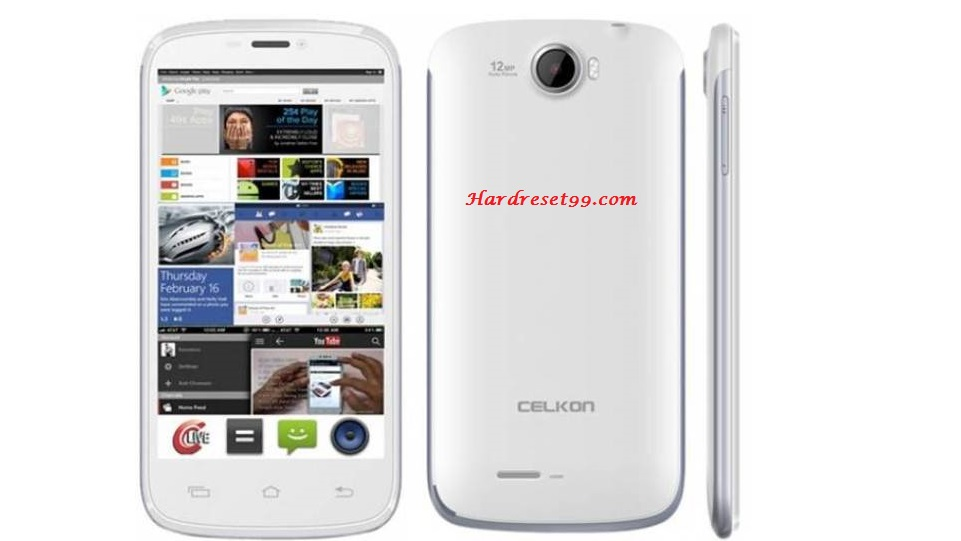 Celkon A119 Signature HD Hard reset, Factory Reset and Password Recovery