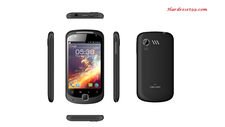 Celkon A67 Hard reset, Factory Reset and Password Recovery