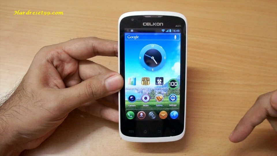 Celkon A95 Hard reset, Factory Reset and Password Recovery