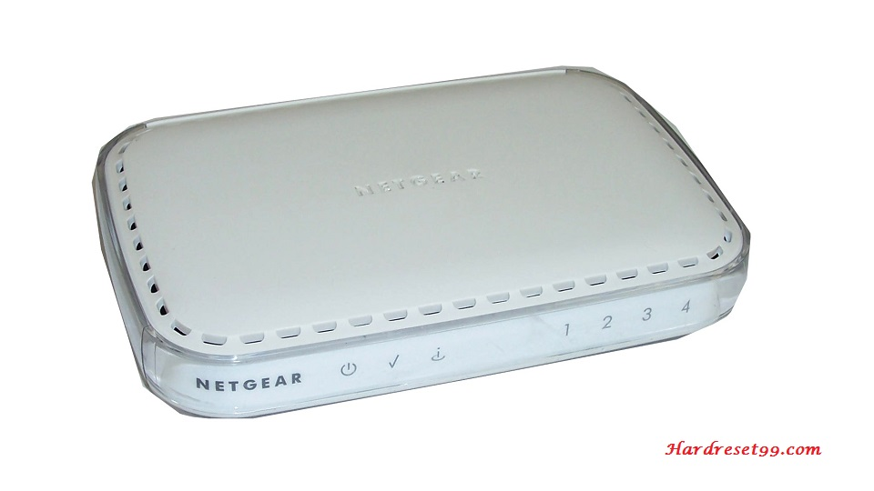 NETGEAR DG834 Router - How to Reset to Factory Defaults Settings