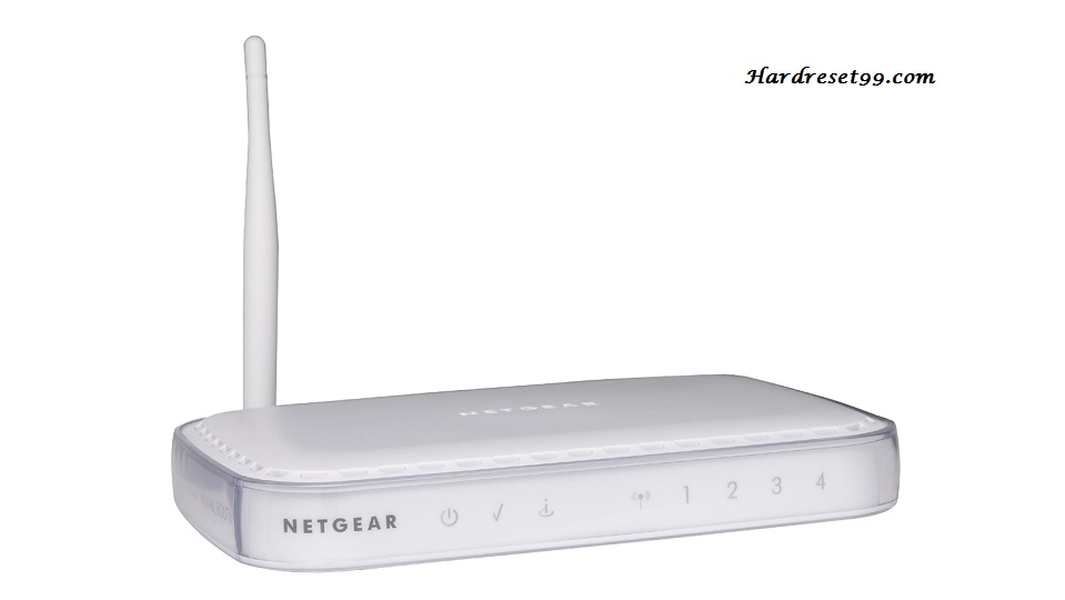 NETGEAR DG834G Router - How to Reset to Factory Defaults Settings