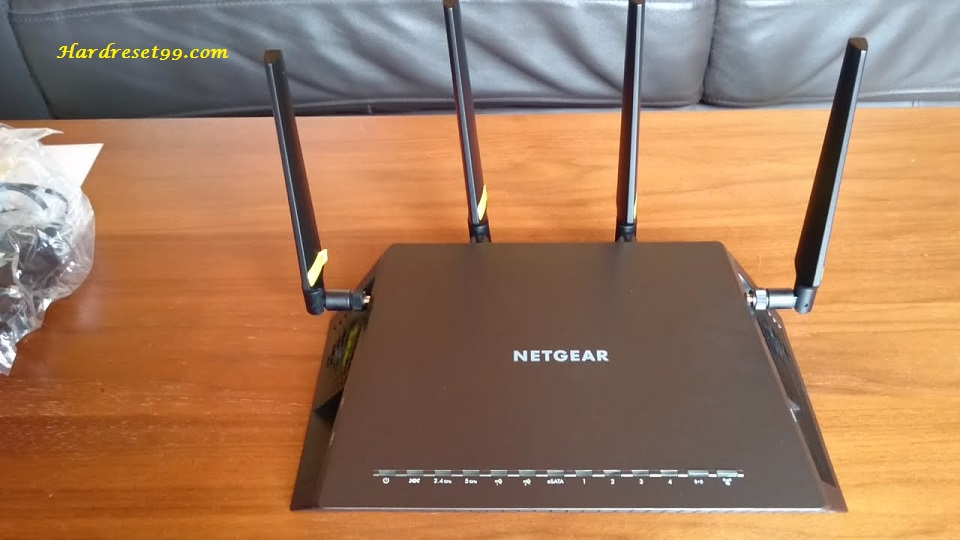 NETGEAR X4S D7800 Router - How to Reset to Factory Defaults Settings