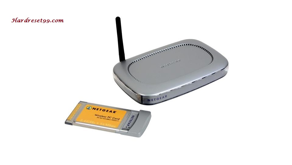 Netgear WGB511 Router - How to Reset to Factory Defaults Settings