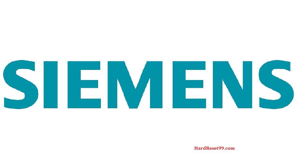 Siemens List - Hard reset, Factory Reset & Password Recovery