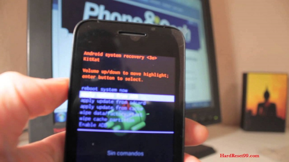 Vodafone Smart 4 Fun Hard reset - How To Factory Reset