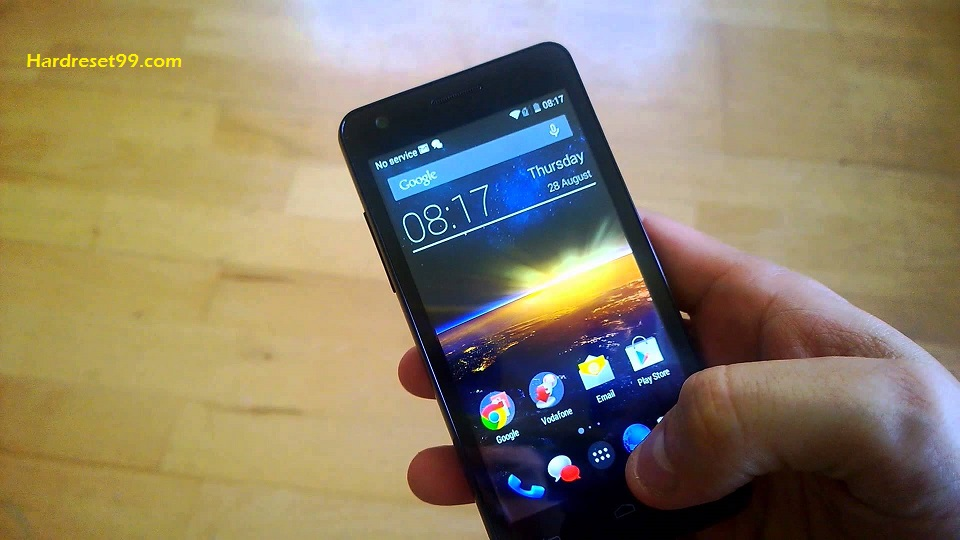 Vodafone Smart 4 turbo Hard reset - How To Factory Reset