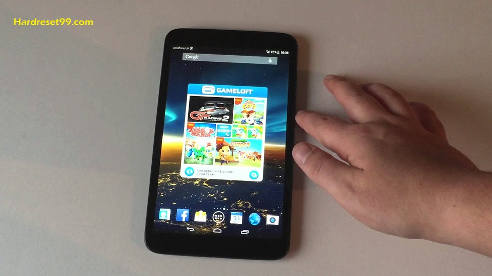 Vodafone Smart Tab 4G Hard reset - How To Factory Reset
