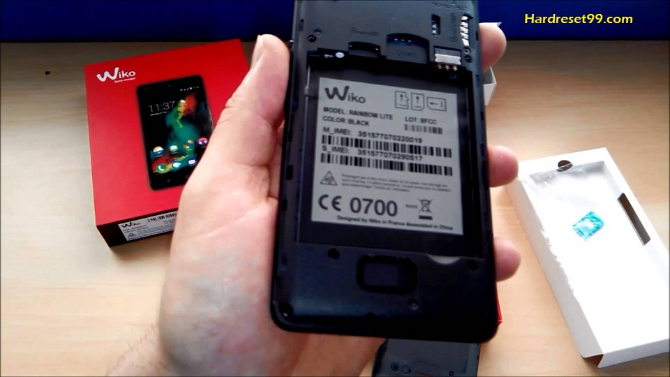 Wiko Jerry Hard reset - How To Factory Reset