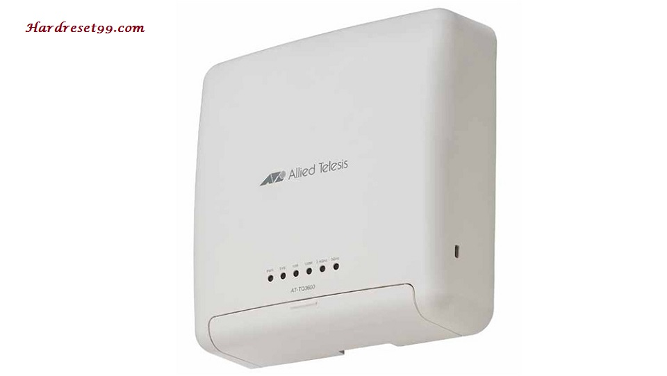 Allied Telesis AT-TQ3600 Router - How to Reset to Factory Settings