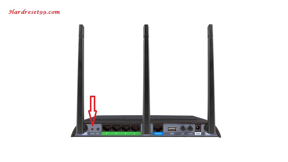 Amped Wireless RTA1750 Router - How to Reset to Factory Settings