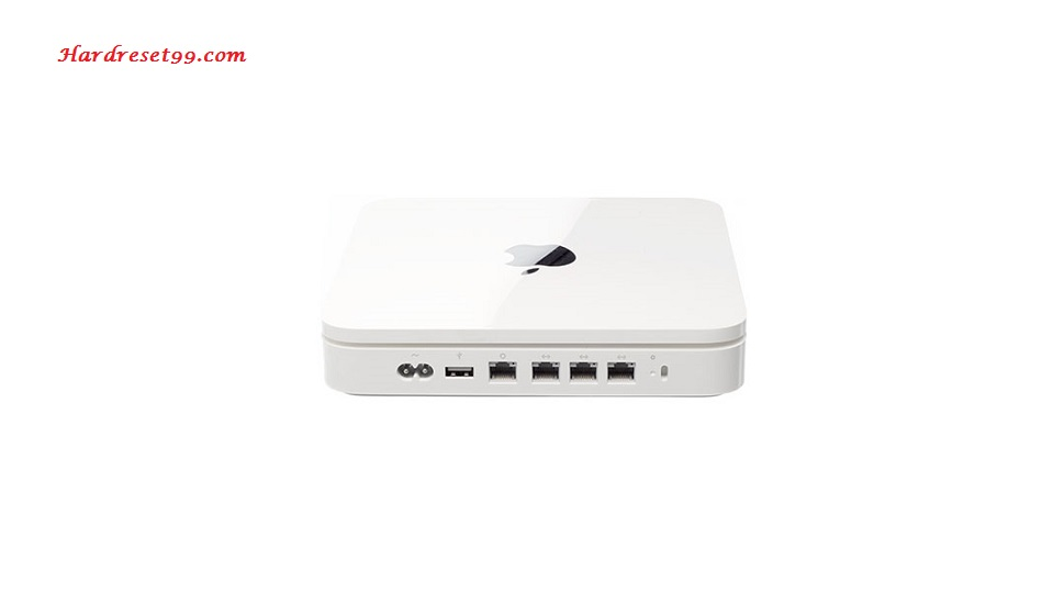 Apple MB276LL Router - How to Reset to Factory Settings