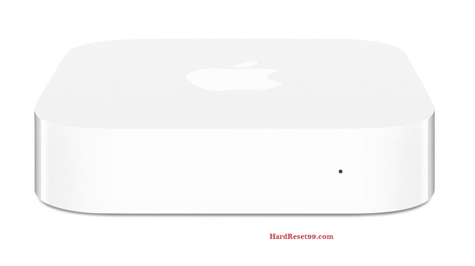 Apple MC414LL Router - How to Reset to Factory Settings