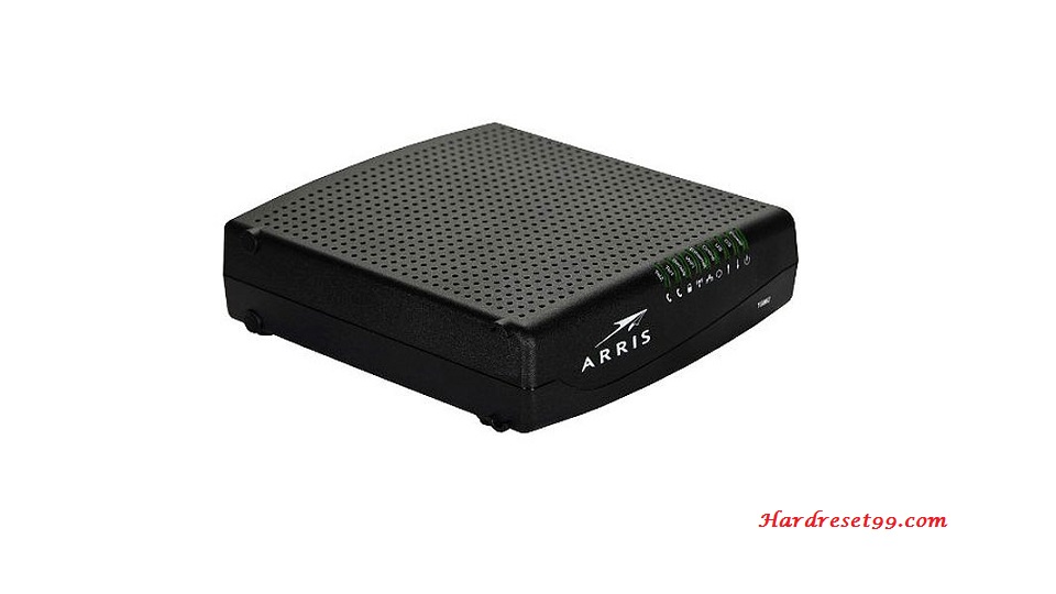 Arris DG860A Router - How to Reset to Factory Settings