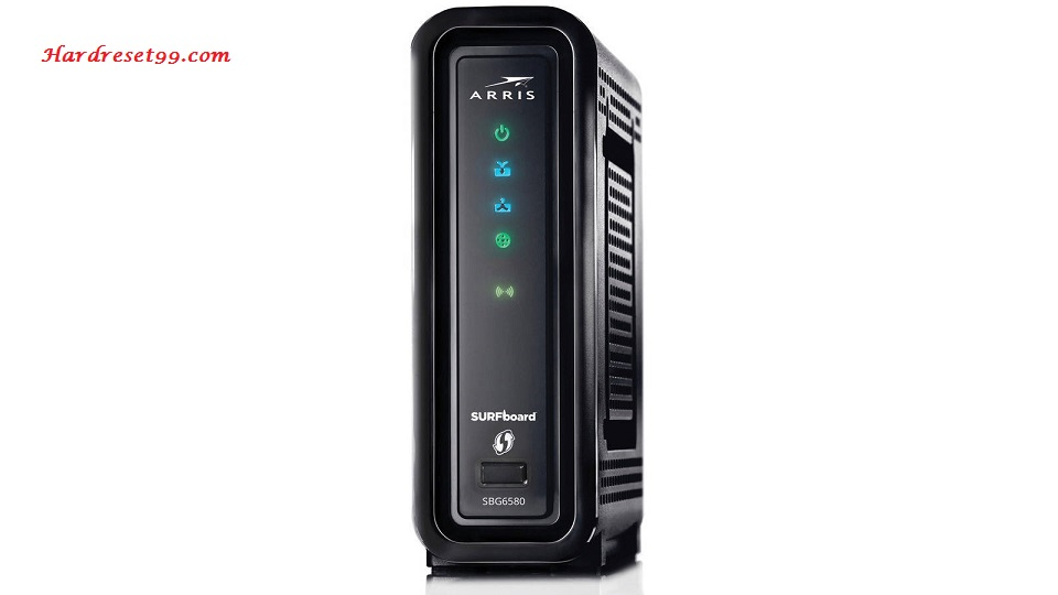 Arris SBG6580 Router - How to Reset to Factory Settings