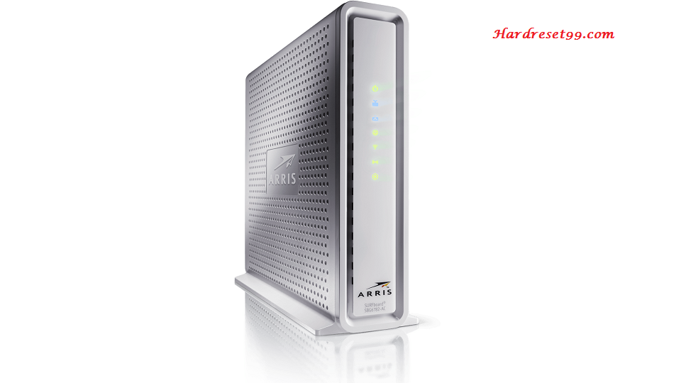 Arris SBG6782-AC Router - How to Reset to Factory Settings