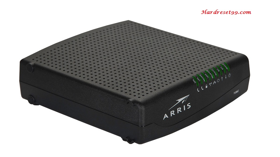 Arris TG862 Router - How to Reset to Factory Settings