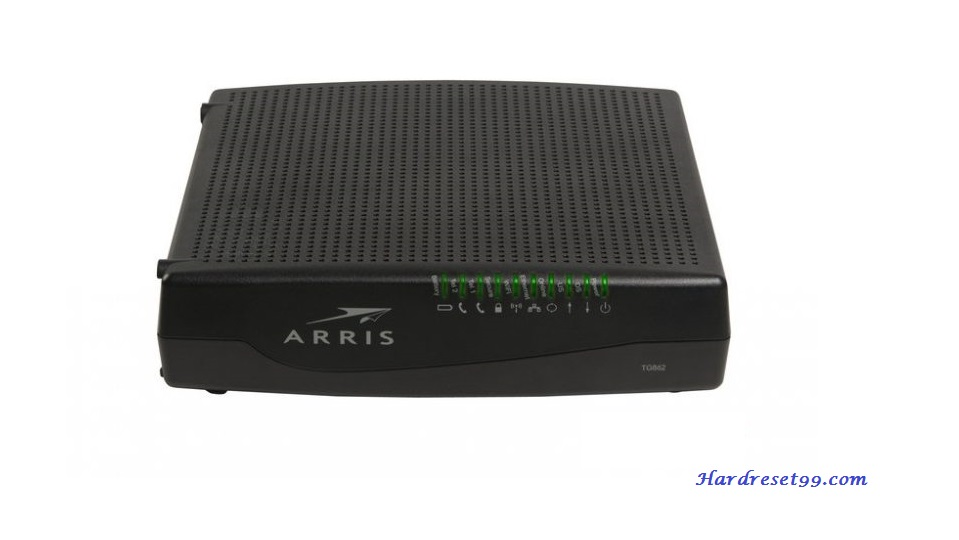 Arris WTM552G Router - How to Reset to Factory Settings